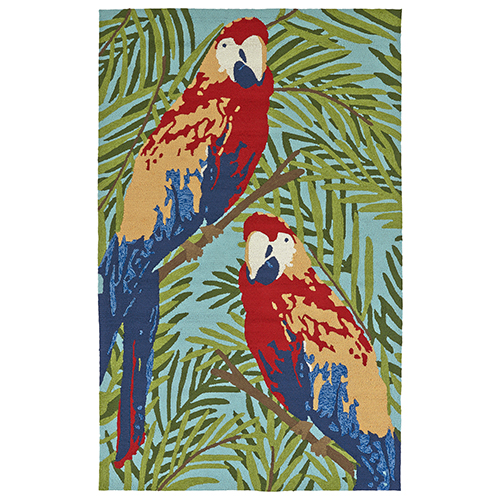 Kaleen Rugs Yunque Multicolor Rectangular: 2 Ft. x 3 Ft.