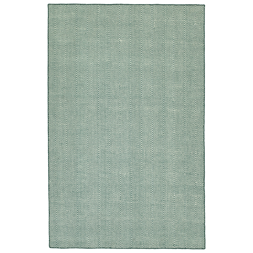 Ziggy Teal Rectangular: 2 Ft. x 3 Ft.