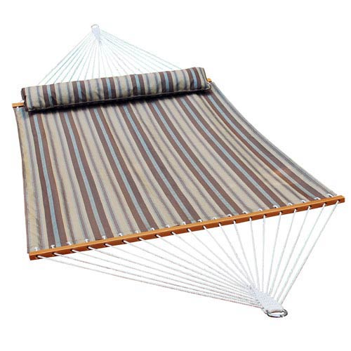 Earth Tone 13 Ft Stripe Quick Dry Hammock