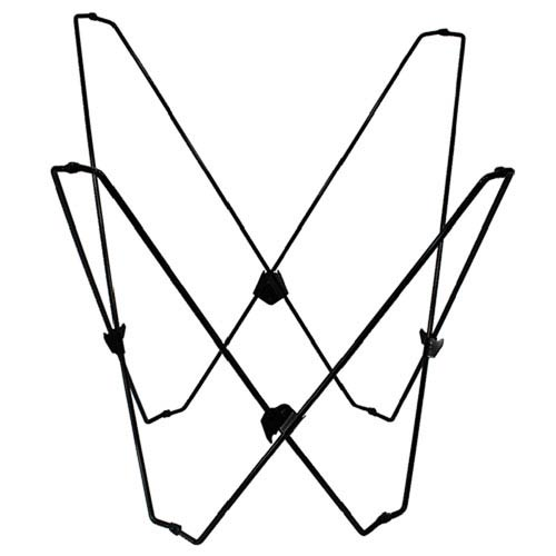 Black Butterfly Chair Frame