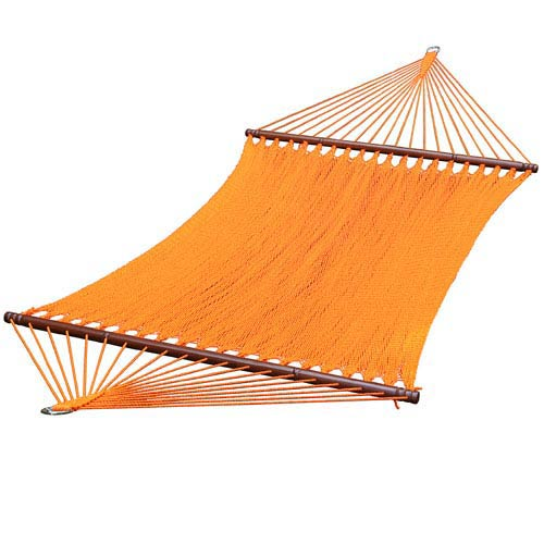 Algoma Net Company Orange 13 Foot Caribbean Hammock