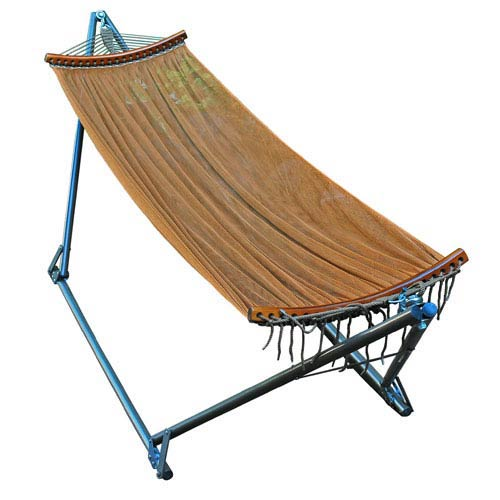 Algoma Net Company Rust E-Z Cozy Folding Hammock with Carry Case