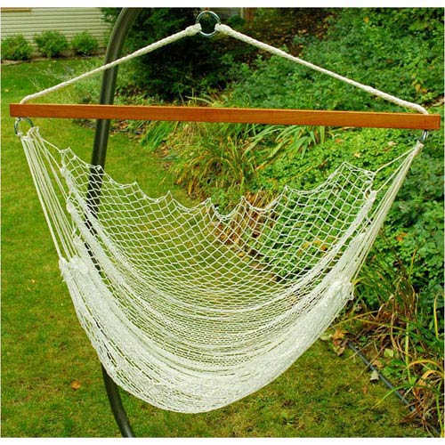 Hanging Nylon Net Chair