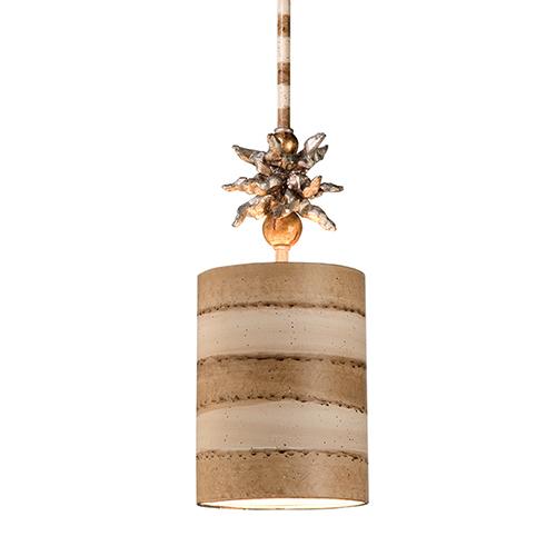 Anemone Taupe One-Light Mini Pendant