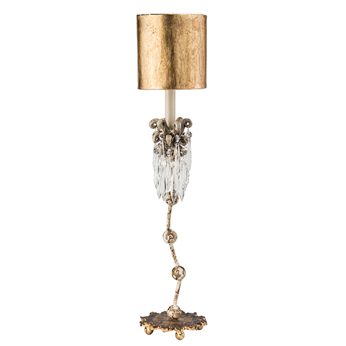 Venetian Beige Patina One-Light Table Lamp