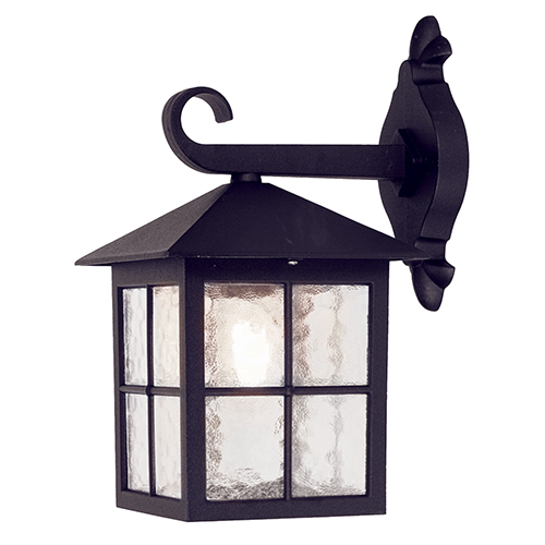 Elstead Lighting Winchester Black 13-Inch One-Light Outdoor Wall Sconce