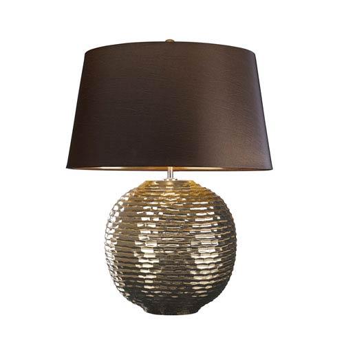 Caesar Gold Glaze One-Light Table Lamp