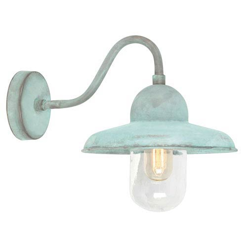 Somerton Verdigris One-Light Outdoor Wall Sconce