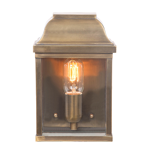 Elstead Lighting Victoria Aged Br One Light Outdoor Wall Sconce
