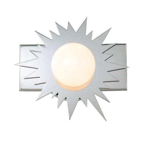 Soleil Polished Chrome One-Light LED Wall Sconce