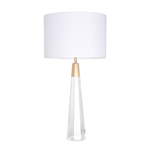 Monroe Brushed Brass One-Light Table Lamp