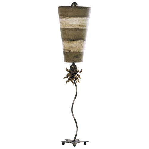 Anemone Putty and Creme Table Lamp