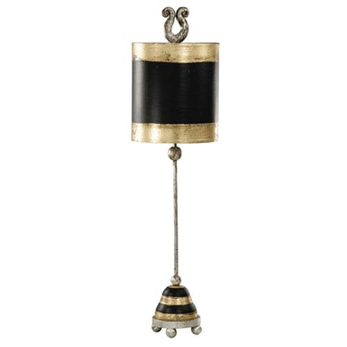 Phoenician Gold and Black Table Lamp