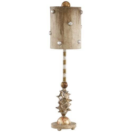 Flambeau Lighting Pome Gold Table Lamp