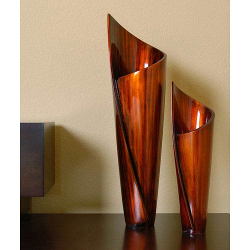 Paper Vases, Set of Two
