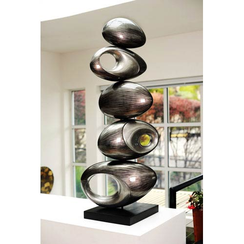 Rock Five Ball Sculpture