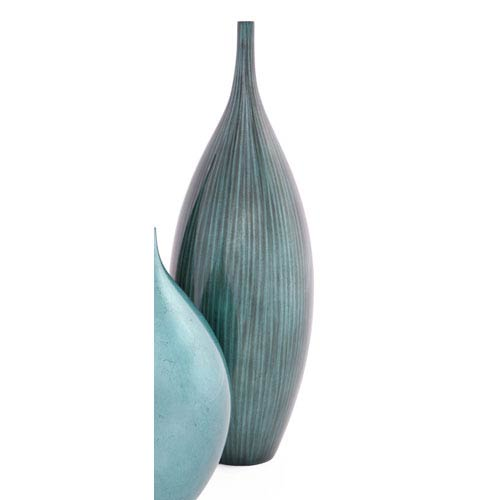 Turquoise Large Bud Vase