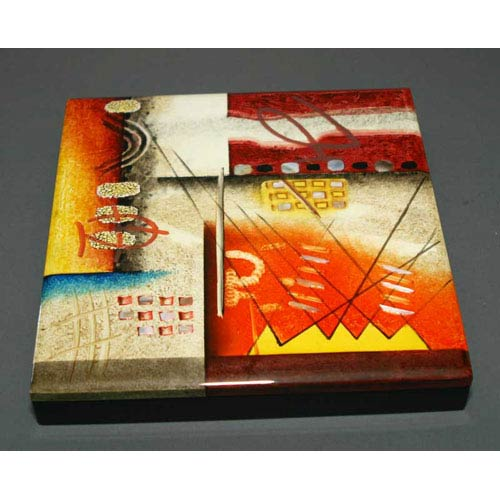 Hebi Arts Lacquer Box with 4 Compartments