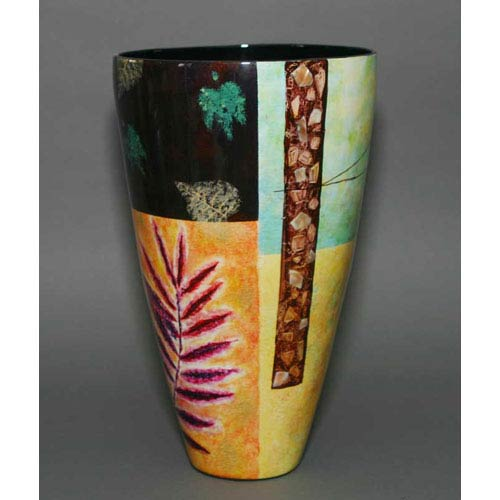 Tall Lacquer Vase