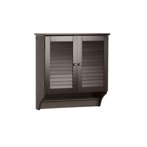 RiverRidge Home Products Espresso Ellsworth Two Door Wall Cabinet
