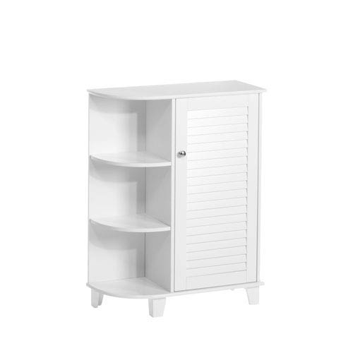 RiverRidge Home Products White Ellsworth Cabinet W/Side Shelves