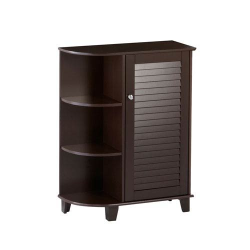 RiverRidge Home Products Espresso Ellsworth Cabinet W/Side Shelves
