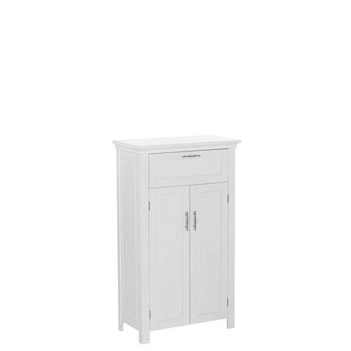 White Somerset Two Door Floor Cabinet