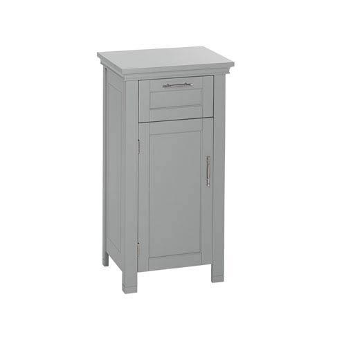 Somerset Collection - Single Door Floor Cabinet - Gray