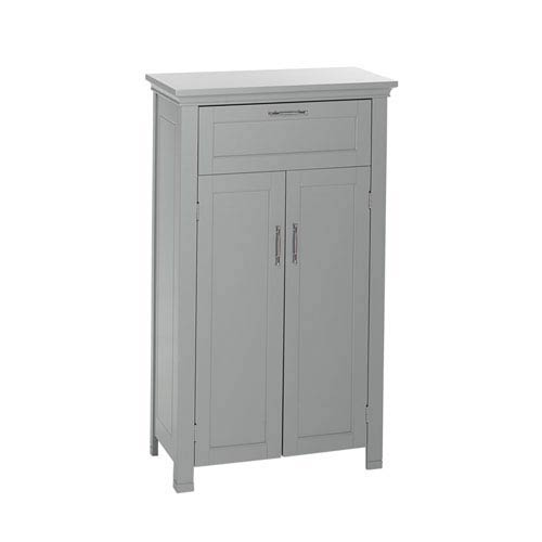 Somerset Collection - 2-Door Floor Cabinet - Gray