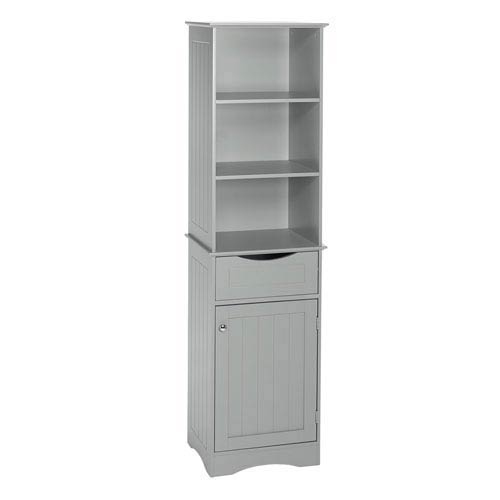 Ashland Collection - Tall Cabinet - Gray