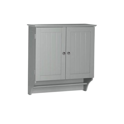 Ashland Collection - 2-Door Wall Cabinet - Gray