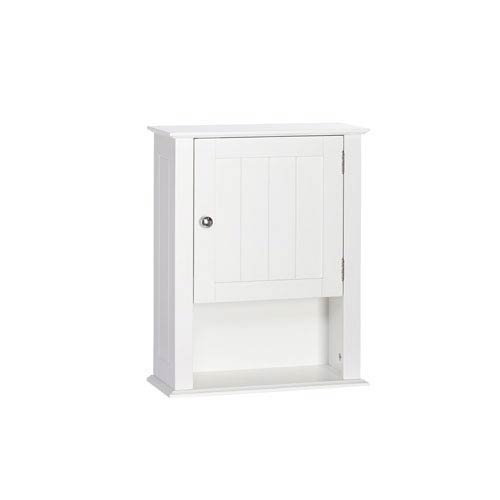 Riverridge Home Products Ashland Collection Single Door Wall Cabinet