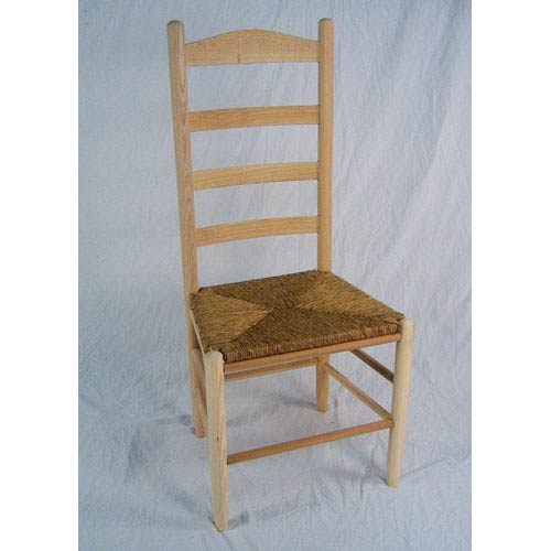 Dixie Seating Company Unfinished Ladder Back Chair ...