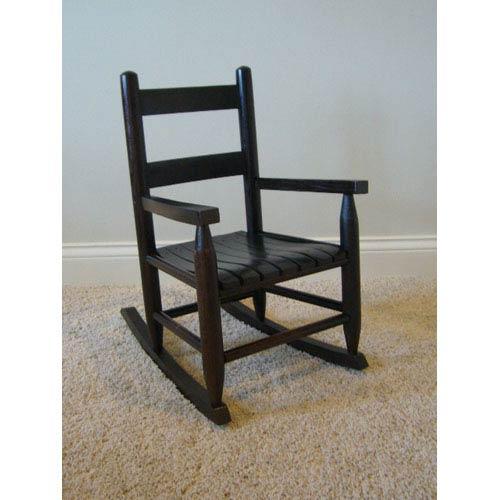 Dixie Seating Company Walnut Child Rocker