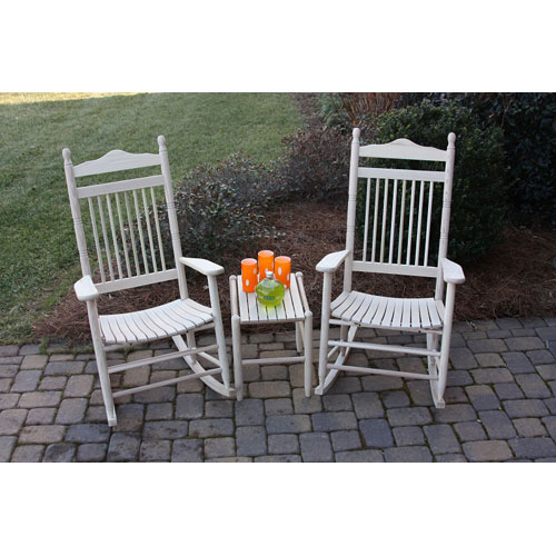 Unfinished Model 467 Rockers (Set of 2) with Table