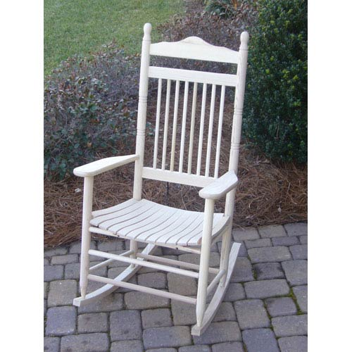 Dixie Seating Company Unfinished Adult Rocker