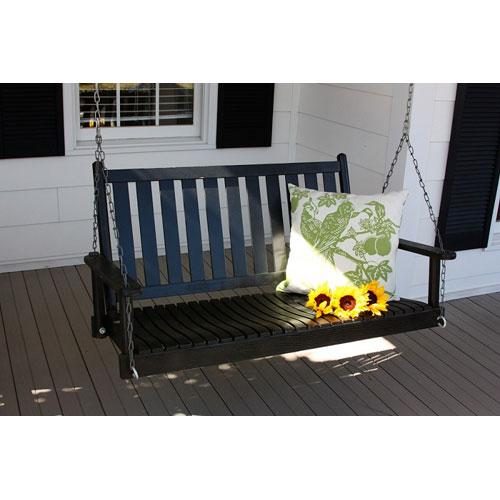 Black Porch Swing