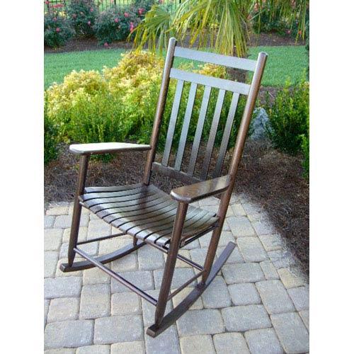 Dixie Seating Company Walnut Adult Rocker