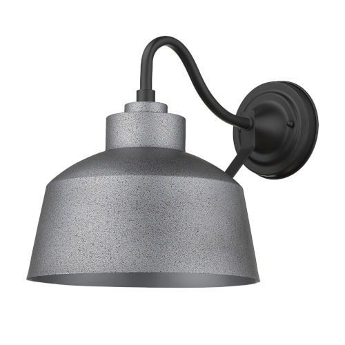 Barnes Gray 8-Inch One-Light Outdoor Wall Mount