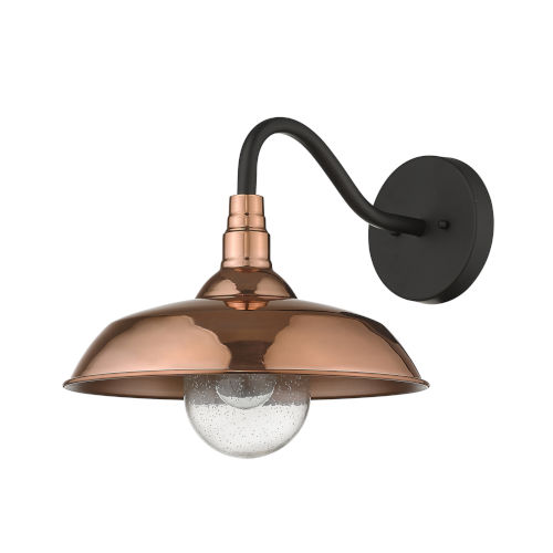 Burry Copper One-Light Outdoor Wall Sconce