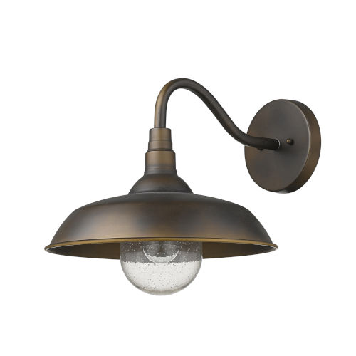Burry Oil-Rubbed Bronze One-Light Outdoor Wall Sconce