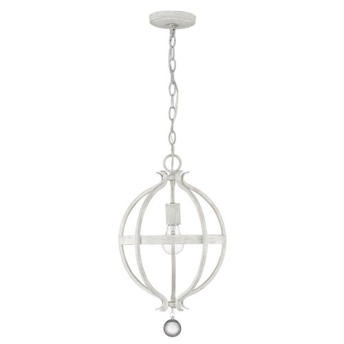 Callie Country White One-Light Pendant