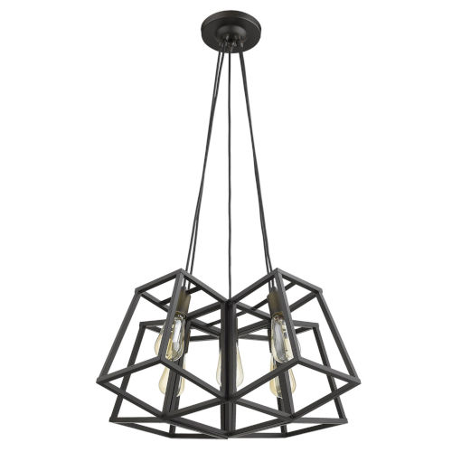 Tiberton Oil Rubbed Bronze Five-Light Chandelier