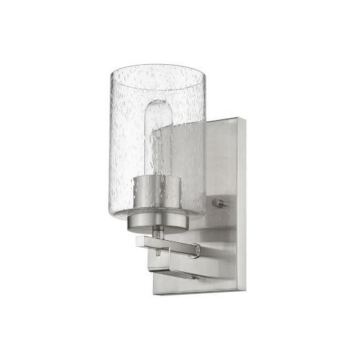 Orella Satin Nickel One-Light Bath Vanity