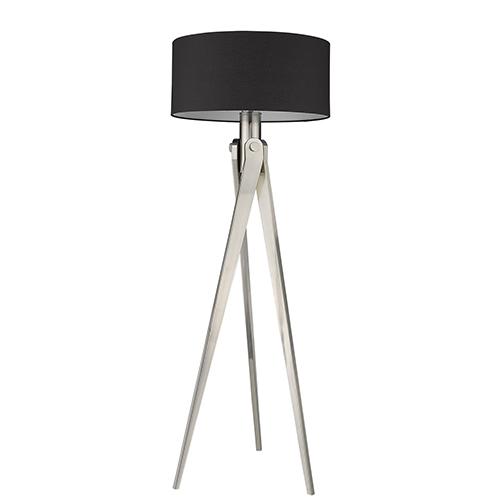 Sangallo Satin Nickel One-Light Floor Lamp