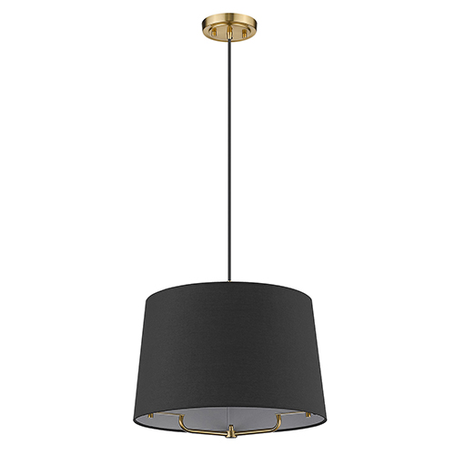 Lamia Gold One-Light Pendant