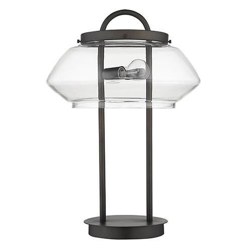 Garner Oil-Rubbed Bronze Two-Light Table Lamp
