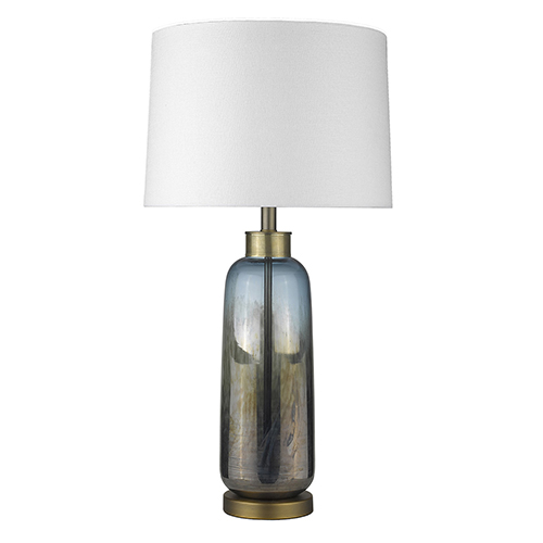 Trend Home Brass One-Light Table Lamp