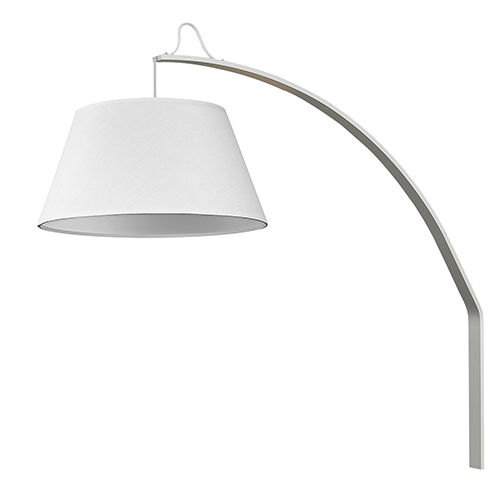 Della White 20-Inch One-Light Wall Sconce