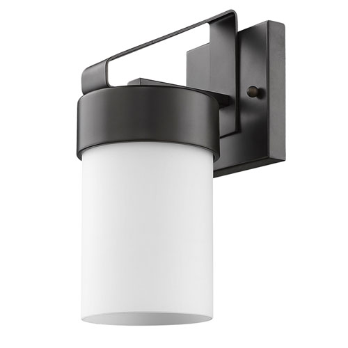 Acclaim Lighting Mason Oil Rubbed Bronze 5-Inch One-Light Outdoor Wall Mount